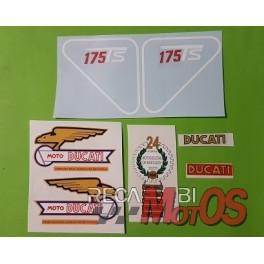 Juego adhesivos DUCATI 175 Ts-2ª serie