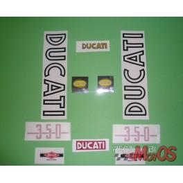 Juego adhesivos DUCATI ROAD 350