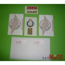 Juego adhesivos DUCATI 175Ts