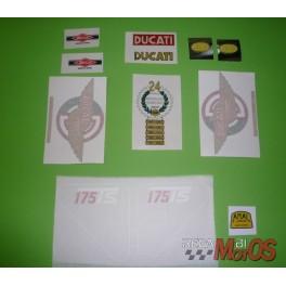 Juego completo adhesivos DUCATI 175Ts