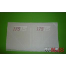 Adhesivos cajas  DUCATI 175Ts
