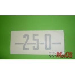 Adhesivo DUCATI 250