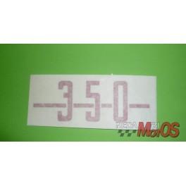 Adhesivo  DUCATI 350
