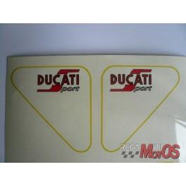 Juego adhesivo DUCATI 125 sport