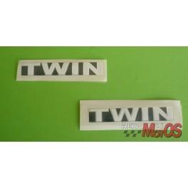 Adhesivo DUCATI TWIN