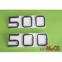 Placas USADAS 500 DUCATI